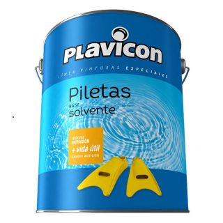 Latex para pileta base solvente PLAVICON