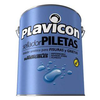 Sellador para fisuras piletas piscina azul PLAVICON
