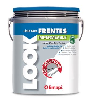 Latex frentes impermeable look EMAPI