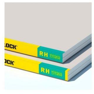 Placa  resistente a la humedad 12.5mm 1.20 x 2.40 mt DURLOCK