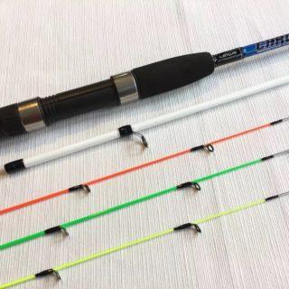 Caña de pescar  chrome 2.40 mt 2 tramos LEXUS