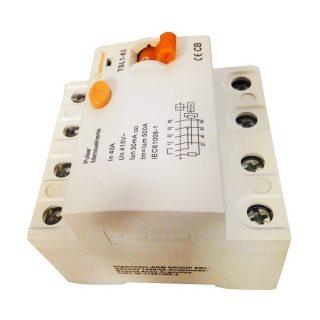 Disyuntor interruptor diferencial tetrapolar SANDERSON
