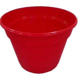 Maceta holanda 18cm rojo GEMPLAST