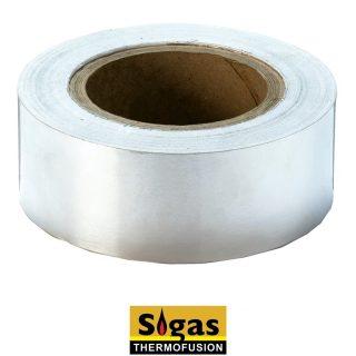Cinta de aluminio 48 mm x 40 mts sigas thermofusion SIGAS