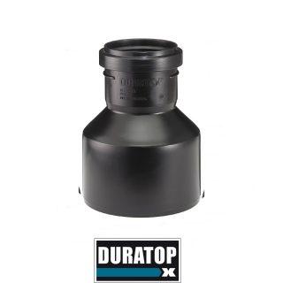Cupla de reduccion m-h negro DURATOP