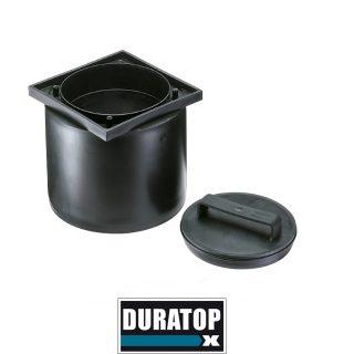 Portamarco de tapa negro DURATOP