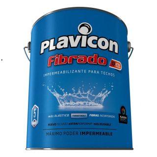 Impermeabilizante fibrado para techos PLAVICON