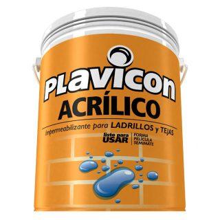 Impermeabilizante p/ladrillos acrilico PLAVICON