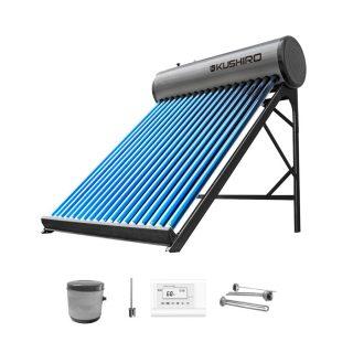 Termotanque solar 200 lt con accesorios KUSHIRO