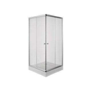 Cabina de ducha cuadrada satinado aura PIAZZA