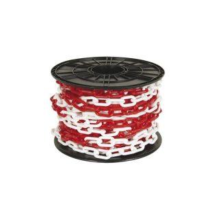 Cadena plastica x metro roja y blanca 8 x 54 x 27 mm ceg k KUSHIRO