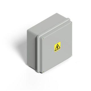 Caja estanca plastica blanca ip65 GENROD