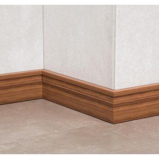 Zocalo line textura madera canela 70mmx2.50mt ATRIM